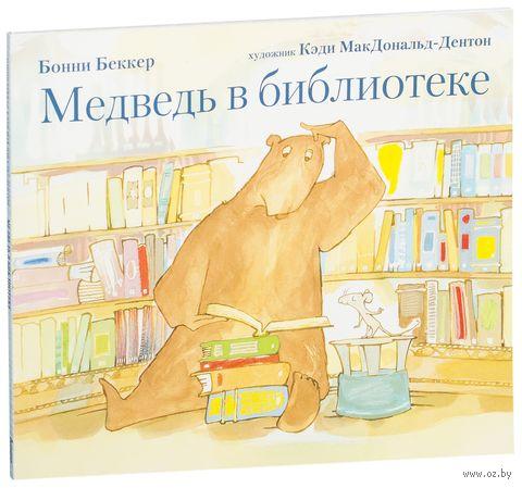 Медведь в библиотеке — фото, картинка