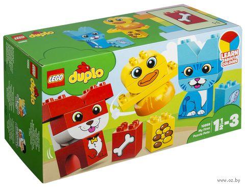 """LEGO Duplo """"Мои первые домашние животные"""" — фото, картинка"""