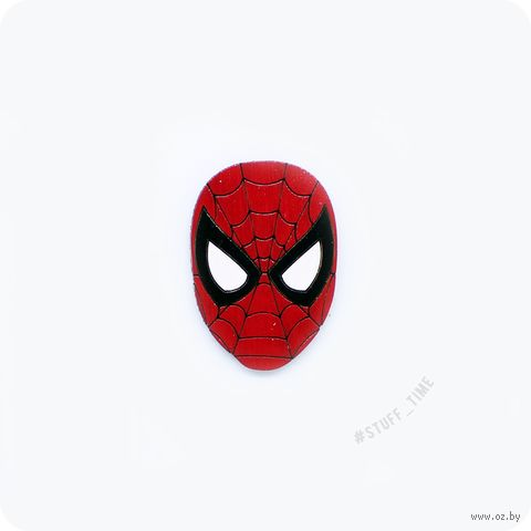 """Значок деревянный """"Человек-паук"""" (арт. 172) — фото, картинка"""