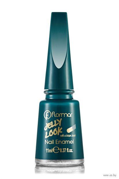 """Лак для ногтей """"Jelly Look Nail Enamel"""" (тон: 12, forest) — фото, картинка"""