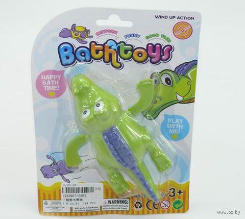 """Заводная игрушка для купания """"Крокодил"""" (арт. 1222967-556Х) — фото, картинка"""