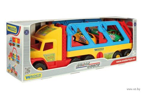 """Игрушка """"Super Truck. Машина с авто-купе"""""""