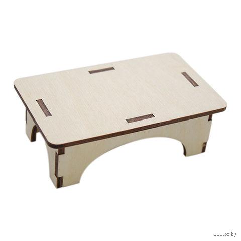 "Заготовка деревянная ""Стол для кукол"" (100х60х30 мм)"