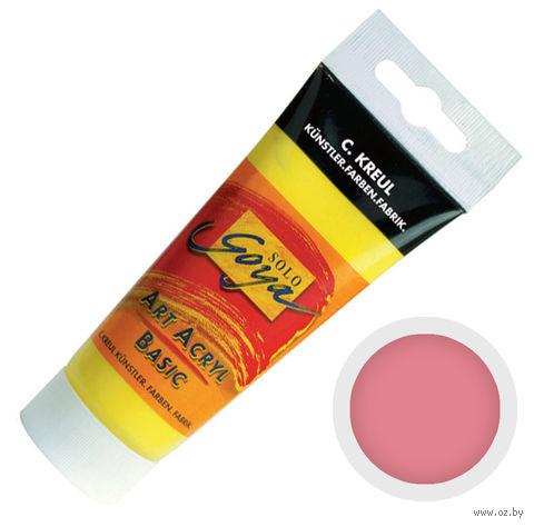 """Краска акриловая матовая """"Solo Goya Basic"""" 38 (100 мл; роза)"""