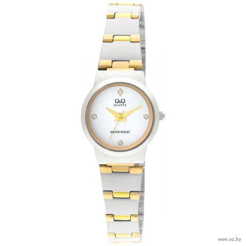 Часы наручные (серебристо-золотые; арт. Q399-401) — фото, картинка