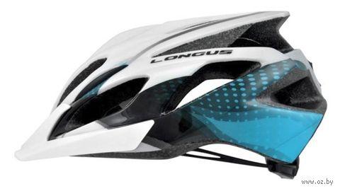 """Шлем велосипедный """"Lass"""" (S-M; голубой) — фото, картинка"""
