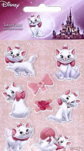 """Наклейки зефирные """"Кошка Мари"""""""