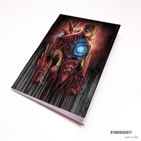 """Блокнот """"Железный человек"""" (А7; арт. 917) — фото, картинка"""