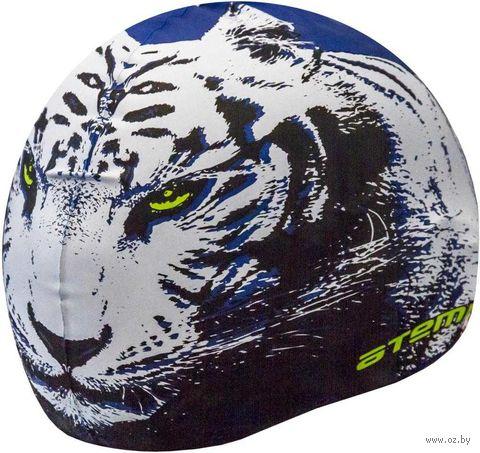 Шапочка для плавания (синяя; тигр; арт. PSC425) — фото, картинка