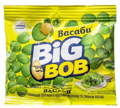 """Арахис в глазури """"Big Bob. Со вкусом васаби"""" (30 г) — фото, картинка"""