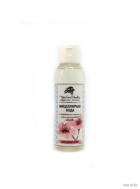 """Мицеллярная вода """"Пептиды шелка и масло розового дерева"""" (200 мл) — фото, картинка"""