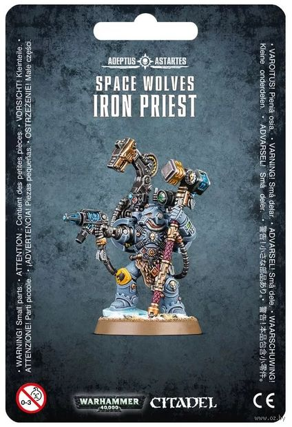 Warhammer 40.000. Space Wolves. Iron Priest (53-19) — фото, картинка