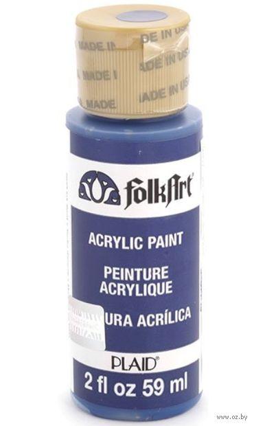 """Краска акриловая """"FolkArt. Acrylic Paint"""" (чернильная клякса, 59 мл; арт. PLD-02623)"""