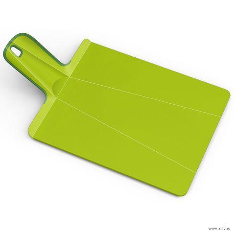 "Доска-трансформер разделочная ""Chop2Pot Plus"" (38х21х1,5 см; зеленая)"