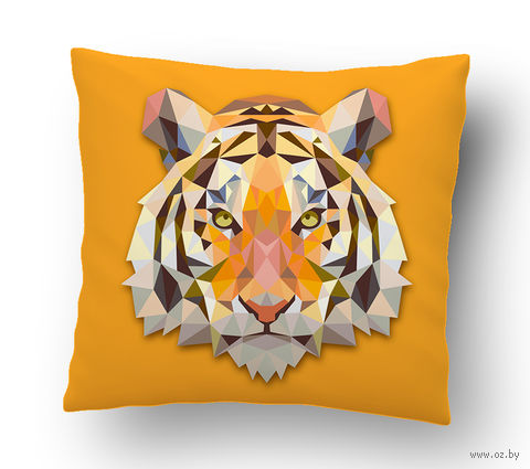 "Подушка маленькая ""Тигр"" (art. 30; 15x15 см)"