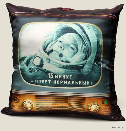 """Подушка """"Гагарин"""" — фото, картинка"""
