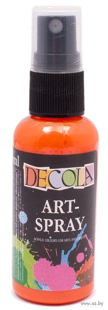 "Краска-спрей ""Decola"" (оранжевая; 50 мл) — фото, картинка"