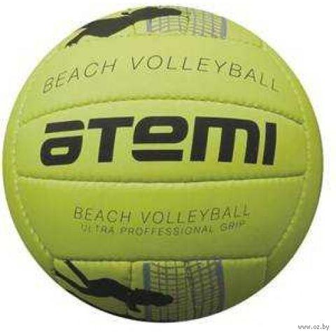 """Мяч волейбольный """"Beach Play"""" №5 (жёлто-чёрный) — фото, картинка"""