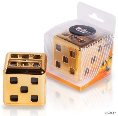 "Ароматизатор ""Куб"" (цитрусовый сад; арт. AFKU038) — фото, картинка"
