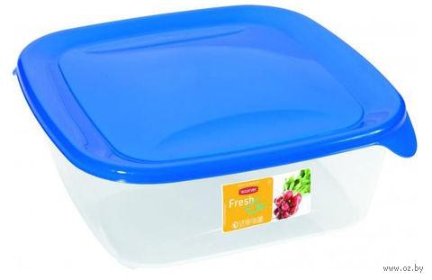 """Контейнер для хранения продуктов """"Fresh&Go"""" (0,8 л; синий)"""