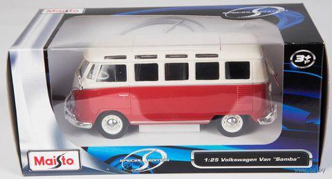 "Модель машины ""Volkswagen Van Samba"" (масштаб: 1/25) — фото, картинка"