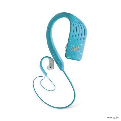Наушники беспроводные JBL ENDURSPRINTTEL (голубые) — фото, картинка