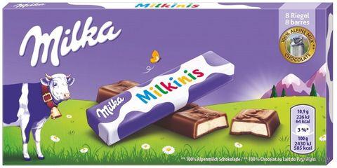 "Шоколад молочный ""Milka. Milkinis. Sticks"" (87,5 г) — фото, картинка"