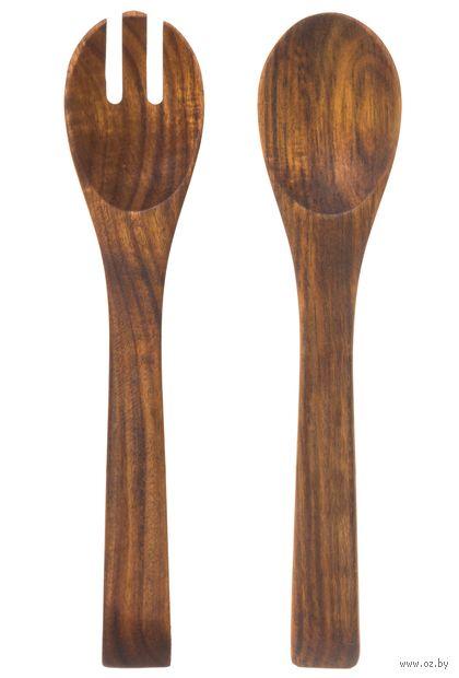 Набор кухонных инструментов (2 предмета; дерево) — фото, картинка