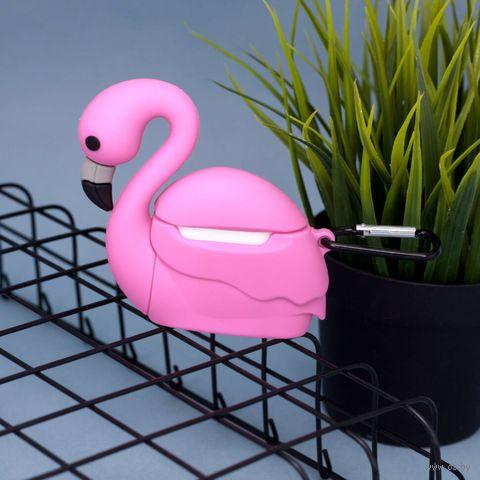 """Чехол для наушников """"Flamingo"""" — фото, картинка"""