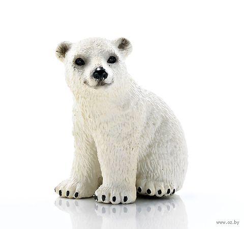 "Фигурка ""Белый медведь. Детеныш"" (4,5 см)"