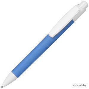 Ручка шариковая, ECO TOUCH (голубая)