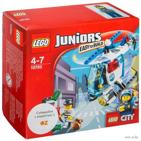 """LEGO Juniors """"Погоня на полицейском вертолете"""""""