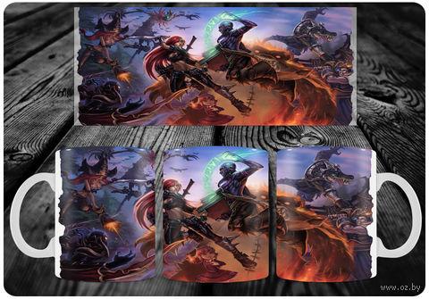 """Кружка """"Лига Легенд"""" (арт. 27) — фото, картинка"""