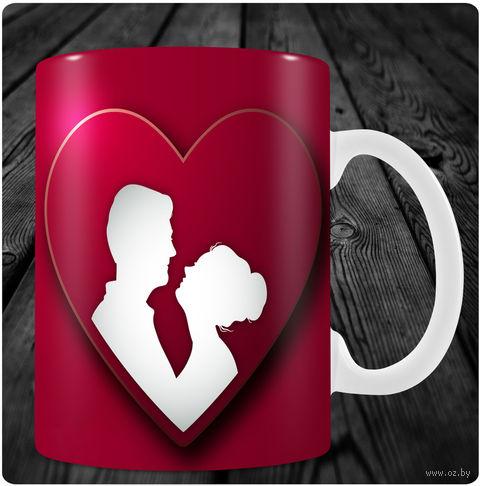 "Кружка ""День святого Валентина"" (арт. 4) — фото, картинка"