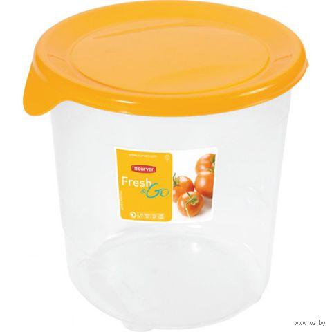 """Контейнер для хранения продуктов """"Fresh&Go"""" (1 л; желтый)"""