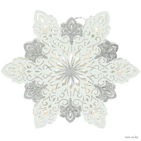 """Фигурка для декора """"Снежинка"""" (арт. CM8NA829602) — фото, картинка"""