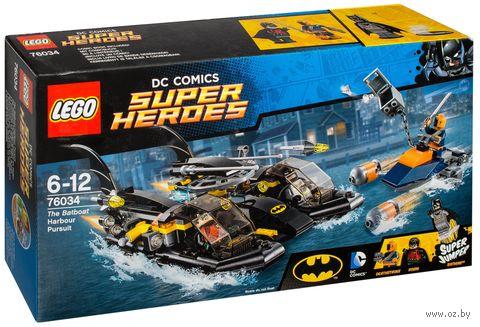 """LEGO Super Heroes """"Погоня в бухте на Бэткатере"""""""