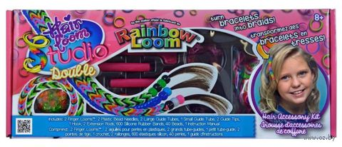 "Набор для плетения из резиночек ""Rainbow Loom. Hair Loom Double"" — фото, картинка"