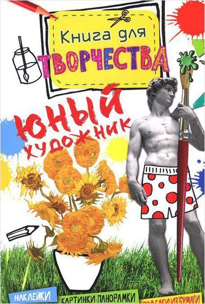 Юный художник. Книга для творчества — фото, картинка