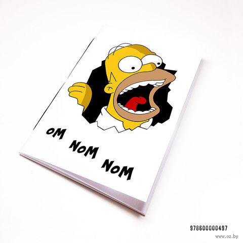 """Блокнот """"Гомер Симпсон"""" (А7; арт. 497)"""