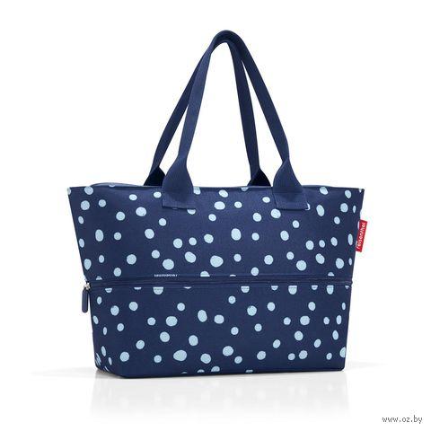 """Сумка """"Shopper E1"""" (spots navy)"""