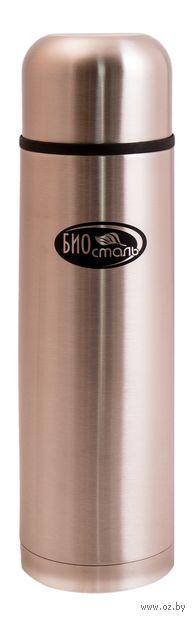 Термос Biostal NB-1000 (1 л; серый металлик) — фото, картинка