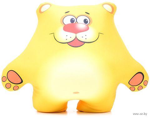"""Игрушка-антистресс """"Медвежонок"""" (29 см; желтый) — фото, картинка"""