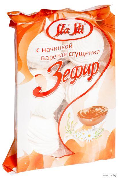 """Зефир """"Sla Sti"""" (320 г; c вареной сгущенкой) — фото, картинка"""