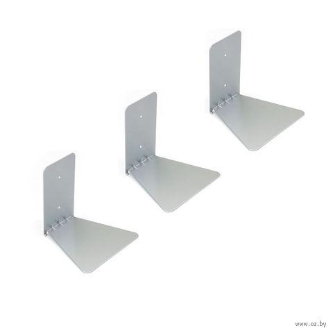 """Полка металлическая """"Conceal"""" (3 шт.; никель) — фото, картинка"""