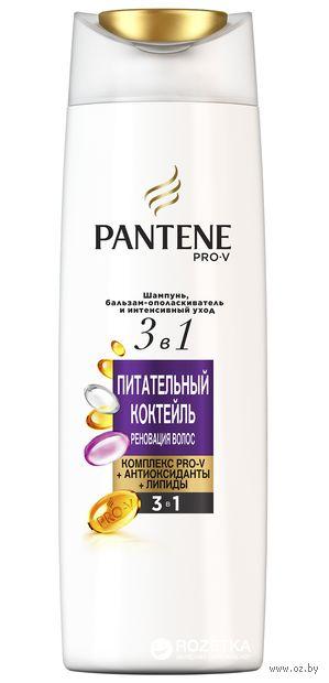 """Шампунь-бальзам для волос 2в1 """"Питательный коктейль"""" (360 мл) — фото, картинка"""