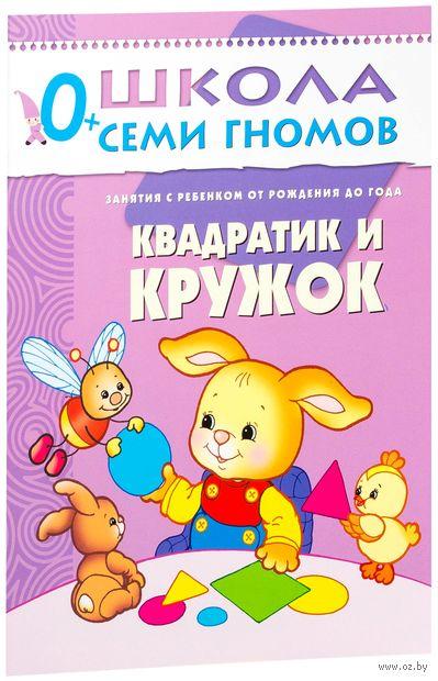 Квадратик и кружок. Занятия с ребенком от рождения до года. Дарья Денисова