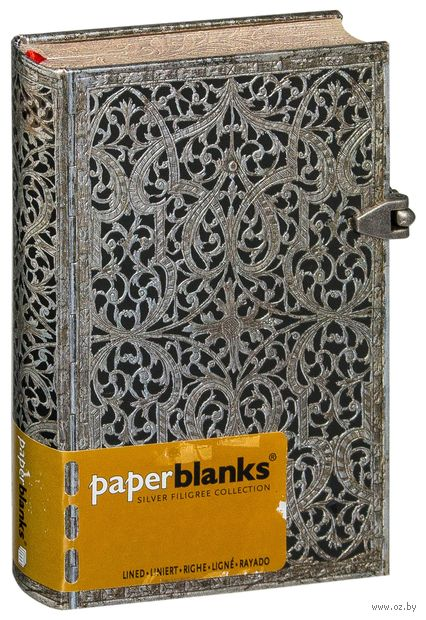 "Записная книжка Paperblanks ""Тень"" в линейку (формат: 95*140 мм, мини)"