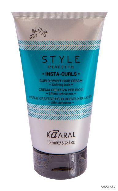 """Крем для укладки волос """"Insta-Curls"""" эластичной фиксации (150 мл) — фото, картинка"""
