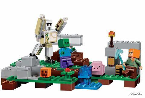 """Конструктор """"Minecraft. Железный голем"""" (220 деталей) — фото, картинка"""